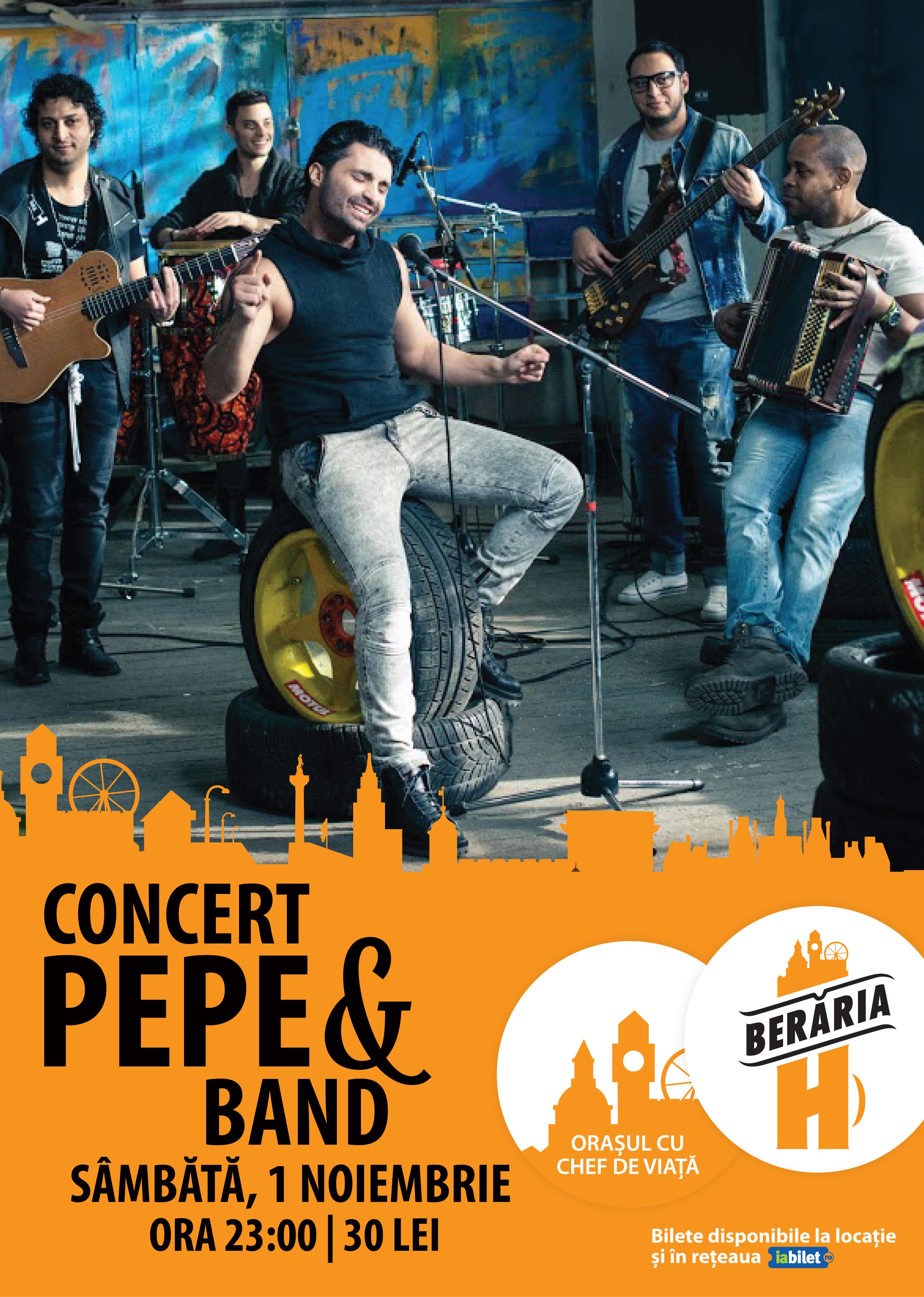 Concert Pepe in Beraria H