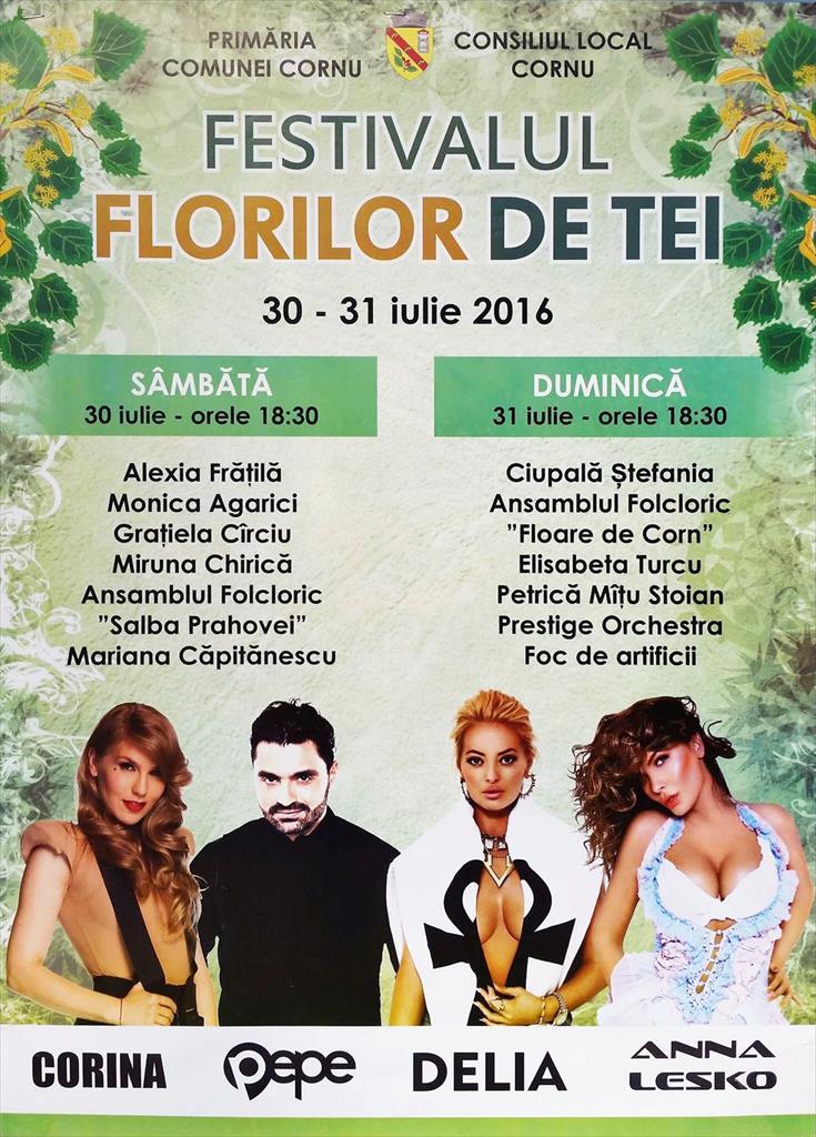 Festivalul 'Florilor de tei' de la Cornu