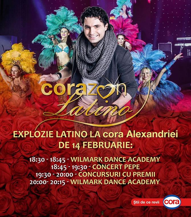 Pepe in Concert de Valentine's Day in Cora Alexandriei